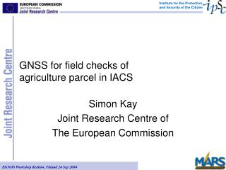 GNSS for field checks of agriculture parcel in IACS