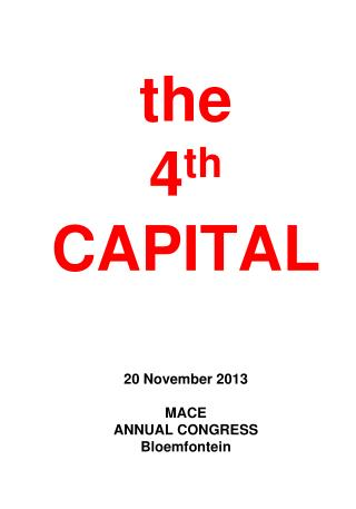 the 4 th  CAPITAL