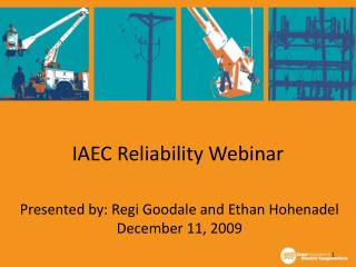 IAEC Reliability Webinar