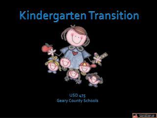 Kindergarten Transition