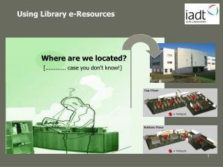 Using Library e-Resources