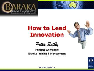 How to Lead  Innovation