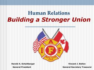 Human Relations Building a Stronger Union