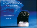 CHEMISTRY DEPARTMENT WAID ACADEMY
