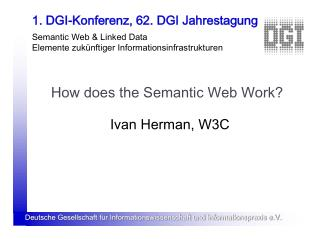 How does the Semantic Web Work?