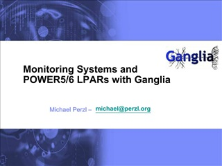 Monitoring Systems and POWER5