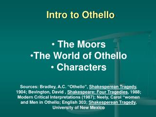 Intro to Othello