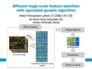 Efficient huge-scale feature selection  with speciated genetic algorithm