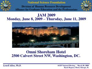 JAM 2009  Monday, June 8, 2009 – Thursday, June 11, 2009