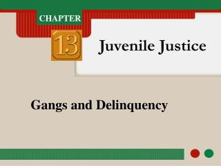 Gangs and Delinquency