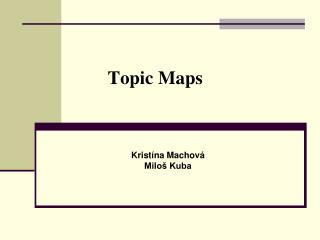 Topic Maps