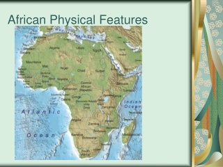 African Physical Features