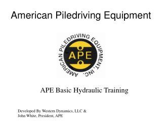 American Piledriving Equipment