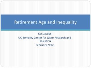 Participation Leads  To Retirement