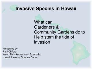 Invasive Species in Hawaii