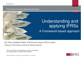 Understanding and applying IFRSs