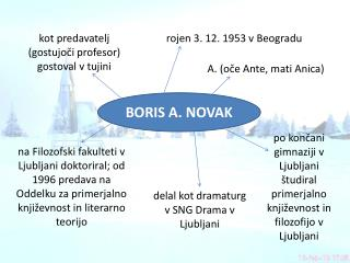 BORIS A. NOVAK