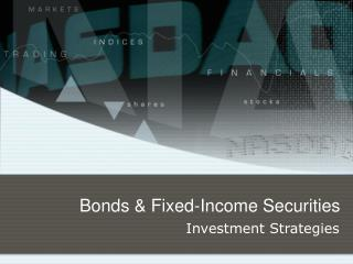 Bonds & Fixed-Income Securities