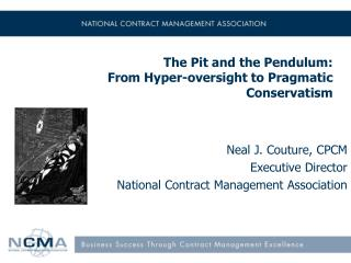 The Pit and the Pendulum:  From Hyper-oversight to Pragmatic Conservatism