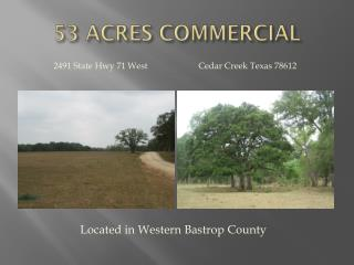 53 ACRES COMMERCIAL