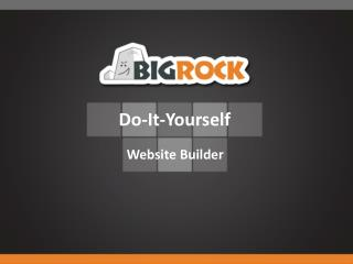 BigRock.in - The best web hosting service provider in India.