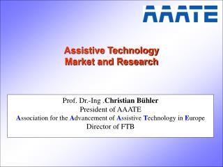 Assistive Technology Market and Research