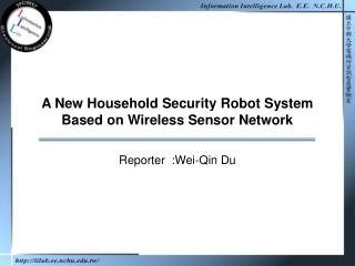 A New Household Security Robot System Based on Wireless Sensor Network