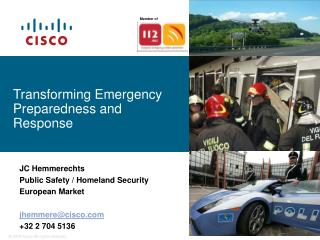 Transforming Emergency Preparedness and Response