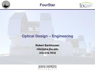 Optical Design – Engineering