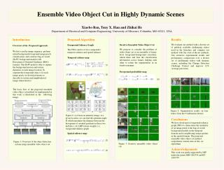 Ensemble Video Object Cut in Highly Dynamic Scenes