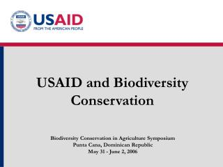 USAID and Biodiversity Conservation