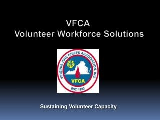 VFCA  Volunteer Workforce Solutions
