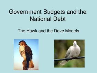 Government Budgets and the National Debt