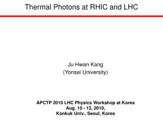 Thermal Photons at RHIC and LHC