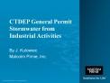 CTDEP General Permit Stormwater from Industrial Activities