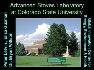 Advanced Stoves Laboratory at Colorado State University