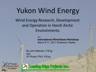 Yukon Wind Energy