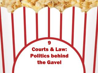 9 Courts & Law:  Politics behind the Gavel