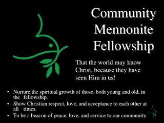 Community Mennonite Fellowship
