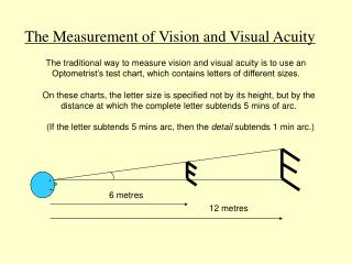 The Measurement of Vision and Visual Acuity