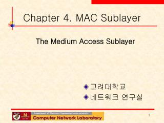 Chapter 4. MAC Sublayer