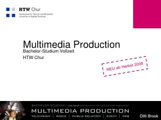 Multimedia Production