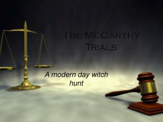 The McCarthy Trials