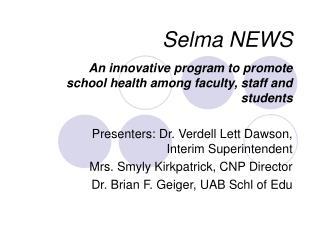 Selma NEWS