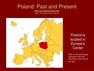 Poland: Past and Present  info-poland.buffalo info-poland.icm.pl