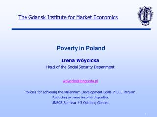 Poverty  in  Poland