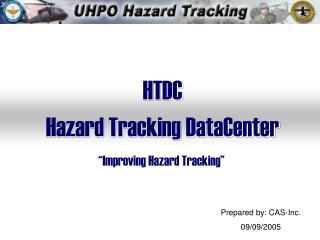 HTDC Hazard Tracking DataCenter