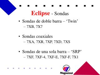 Eclipse - Sondas