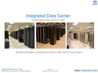 Integrated Data Center Collocation Services  |  India