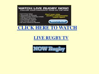 LIVE RUGBY Leicester Tigers vs Australia